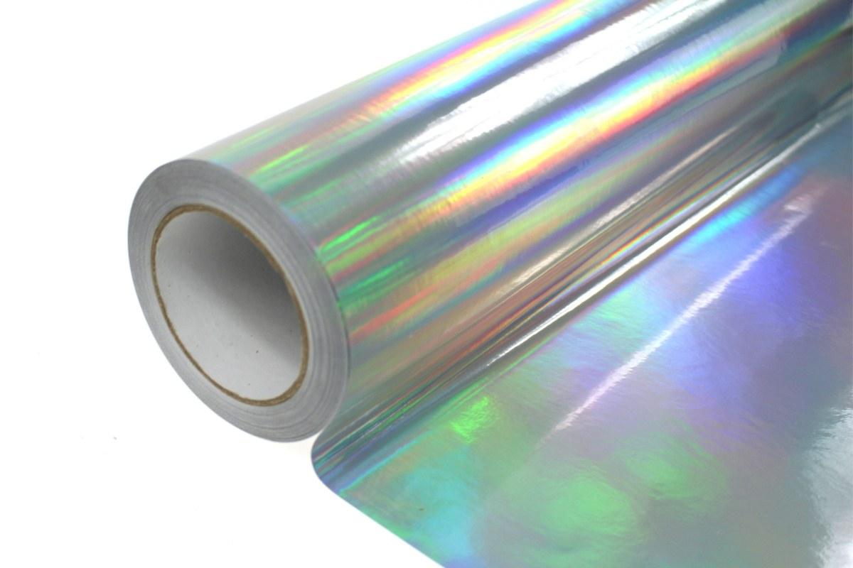 Folia Wrap Silver Holo 1,52X30m - GRUBYGARAGE - Sklep Tuningowy